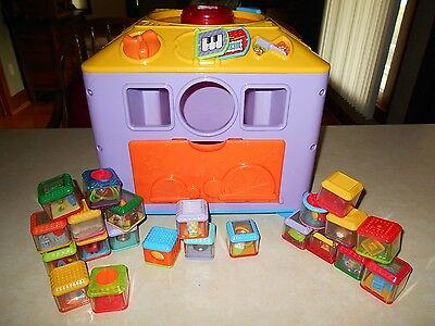 Fisher Price 25 Peek A Boo Blocks And The Sing A Long Big Block And It Works