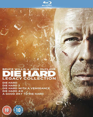 Die Hard: 1-5 Legacy Collection Blu-Ray (2013) Bruce Willis ***NEW***