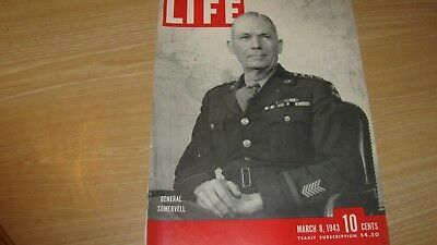 1943 Life Magazine  March 8  General  Somervell  High Grade Lowest Price On Ebay