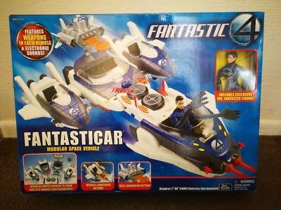 Fantastic 4 Fantasticar W/ Figure Mint In Box Never Opened. Issued In 2005
