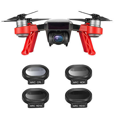Neewer Lot de 4 Filtre pour DJI SPARK Quadcopter Kit de Filtres Multi-enduits