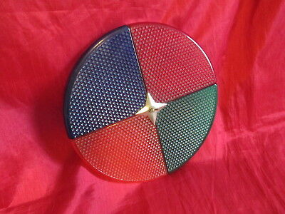 Vintage Plastic 4 Color Wheel Disc For Alumminum Christmas Tree Great Condition