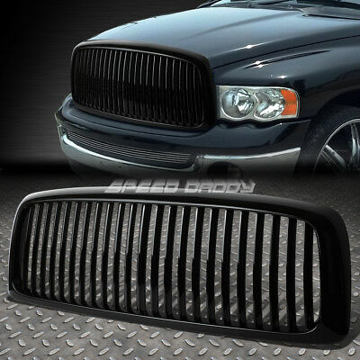 Sports 1Pc Front Hood Bumper Abs Grill/grille/frame 02-05 Dodge Ram Truck Dr/dh