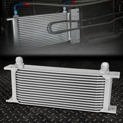 Universal 15-Row 10An Coolant/transmission/engine Oil Cooler Extra Radiator Kit