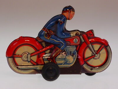 "GSMOTO NEW PENNY TOYS ""POLICE"" PH. NIEDERMEIER, 9cm, FAST WIE NEU/NEARLY NEW !"