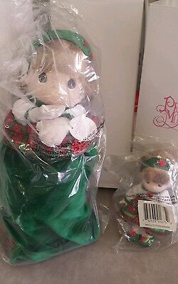 """NEW Limited Edition Precious Moments CHRISTMAS CAROL Dolls new in box 15"""" & 6"""""""