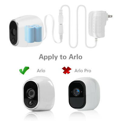 New Power Adapter for NETGEAR Arlo Security Camera(Replace  Batteries CR123A)