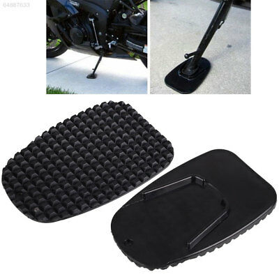 4657 Motorcycle Side Kickstand Non-Slip Plate Base Parking Stand Support Plastic