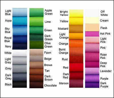 ECO Friendly FELT* CHOOSE YOUR OWN COLOUR** 1/2 m x 1.8M 'Australian Stock'