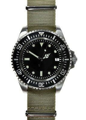 MWC Stainless Steel Automatic 24 Jewel 1980s Pattern 300m / 1000ft Divers Watch