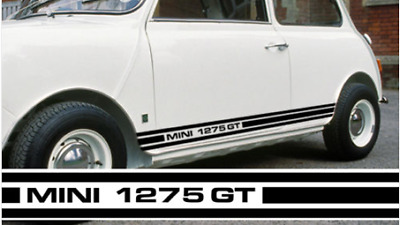 Classic Mini Cooper 1275 GT Clubman Side Stripes Decals ANY COLOUR