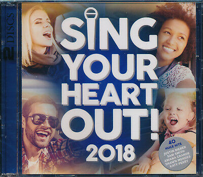 Sing Your Heart Out! 2018 2-disc CD NEW Imagine Dragons Demi Lovato Vance Joy