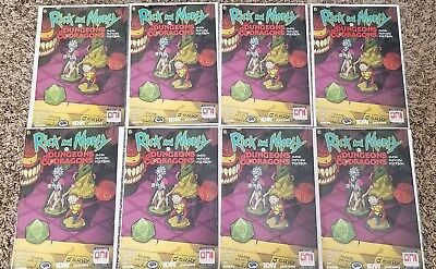 8x Rick and Morty vs Dungeons & Dragons #1 Sneak Peek Preview Edition - NM