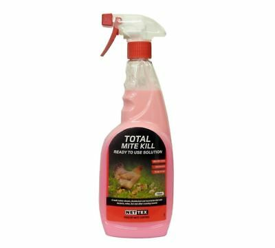 Nettex Total Mite Kill Ready to use Solution 750ml
