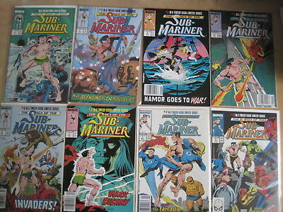 The SAGA of the SUB-MARINER : COMPLETE 12 ISSUE 1988 MARVEL SERIES by ROY THOMAS