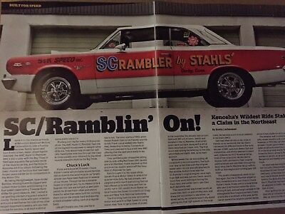 1969 SC/RAMBLER + ROGUE 343 Road Test, Off Roading,