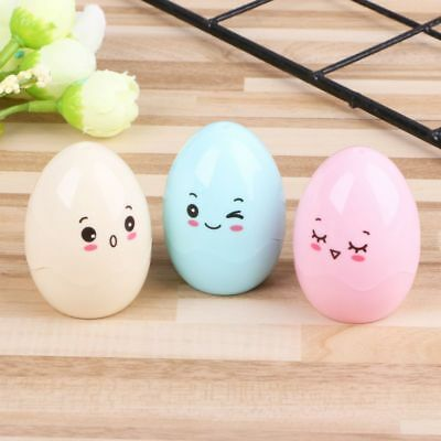 Cartoon Egg Pencil Sharpener Mechanical For Stationary Kids School Supplies Gift