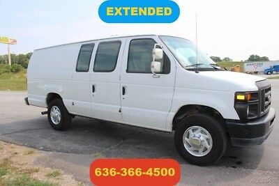 2011 Ford E-Series Van Commercial 2011 Commercial Used 5.4L V8 Automatic Extended Cargo courier carpet work van