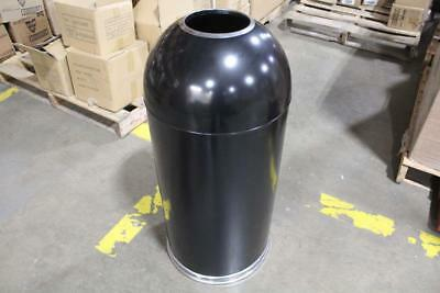 Witt Industry 15 Gallon Standard Open Top Indoor Waste Receptacle 415DTBK