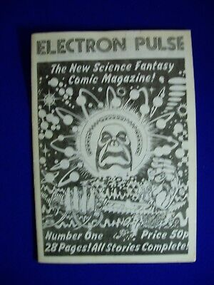 Electron Pulse 1. UK  Underground sci fi comic 1980. fn+