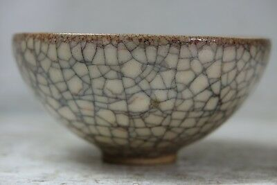 Wonderful Old Chinese Crackle Ware Bowl - Fine Example - Very Rare - L@@k