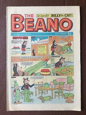 Box L The Beano Comic No 1532 November 27th 1971