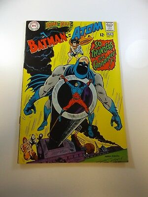 "Brave And The Bold #77 VG condition ""bottom staple detached from cover"""