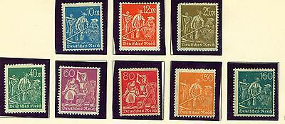 Germany old classic Agriculture stamps set 1922 MLH/NH