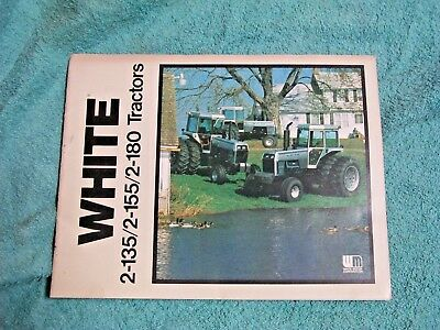 White Tractor 2-135 2-155 C-180 TractorS Dealer's Brochure WITH SPECIFICATIONS