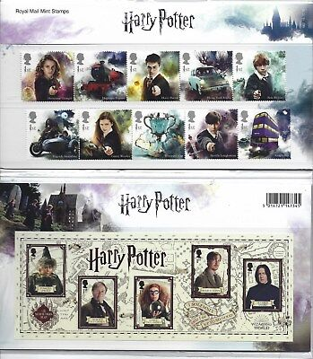 Great Britain 2018 Harry Potter Presentation  Pack