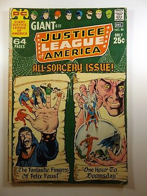 """Justice League of America #85 """"All Sorcery Issue!"""" Solid VG Condition!!"""