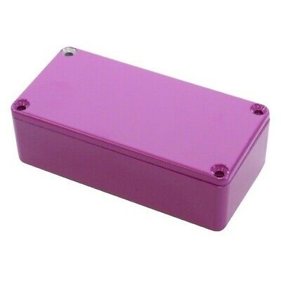 Hammond 1590G2PR Die Cast Stomp Box - Purple 100 x 50 x 31