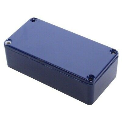Hammond 1590G2CB Die Cast Stomp Box - Cobalt Blue 100 x 50 x 31