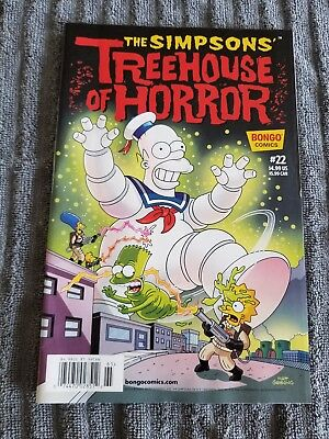 The Simpsons Treehouse Of Horror Comic Issue 22 2016 BRAND NEW 99 CENT SALE