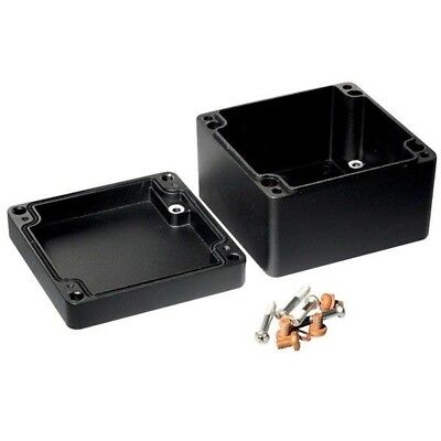 Hammond 1590Z119BK Watertight Diecast Enclosure 122 x 120 x 80 Black