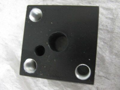 Laser Optic Mount Block Stage Assembly - 2 Parts