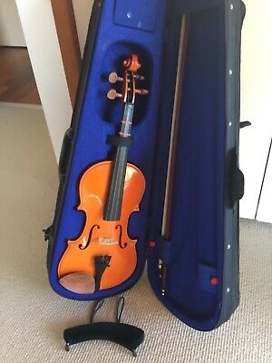 Stentor violin 59cm case & bow used but in excellent condition case & bow+1