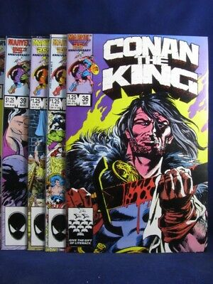 Marvel- Conan The King # 36 - 40- Vg/f/f+