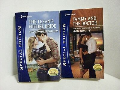 2 Harlequin Special Edition romances-Byrds of a Feather series