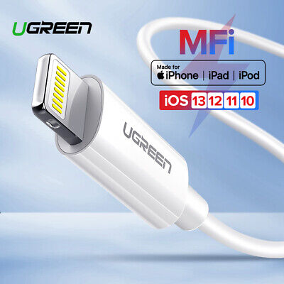 Ugreen Apple Lightning Charging Cable Lightning Data Sync Cable MFi Certified