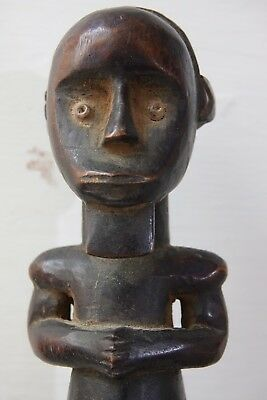 Very Interesting Old African Tribal Reliquary Box - Extremely Rare - L@@k