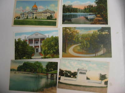 50 Older Mississippi Postcard Lot