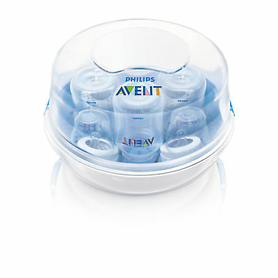 Philips Avent Microwave Steam Sterilizer 3 in 1 for 4 Baby Bottles.