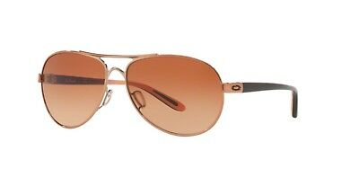 Authentic Oakley 0OO4079 FEEDBACK 407925 ROSE GOLD Sunglasses