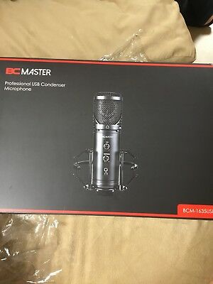 BC MASTER Professional USB Condenser Microphone BCM-1635USB