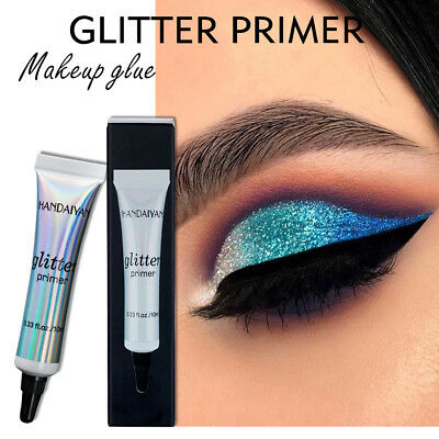 Makeup Cream Glitter Primer Shimmer Sequin Eyeshadow Base & Foundation Glue 10ML