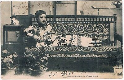 C6863 - Une Carte Postale Ancienne Ethnie, Femme Chinoise