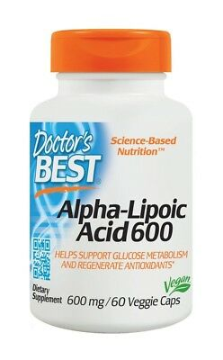 Alpha Lipoic Acid 600mg Doctors Best 60 VCaps