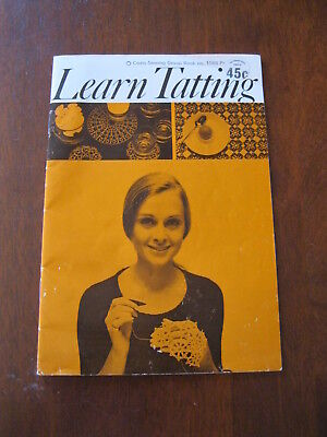 Learn Tatting: Coats Sewing group:  Book no. 1088:Vintage :  Preloved
