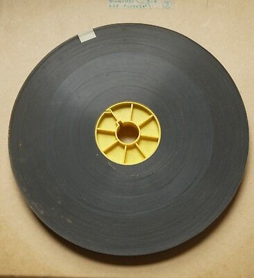 FILM ONE COLOUR LARGE REEL 1300ft 16MM FILM /DIAMONDS ARE FOREVER
